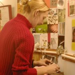 Jewellery student