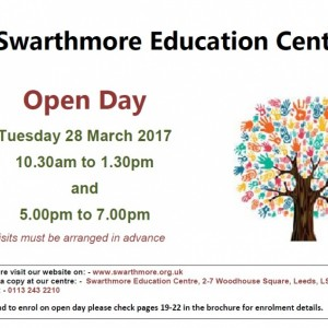 2017_03 Open Day Poster