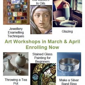 Arts Workshops 2018_03 & 04 Sq