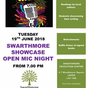Course Poster - Swarthmore Showcase Open Mic Night-1