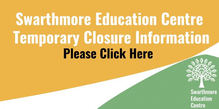 temp closure banner