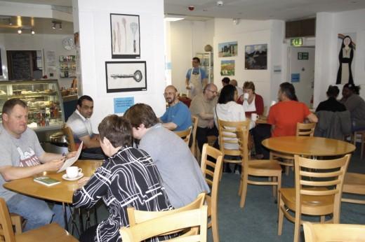 Swarthmore cafe