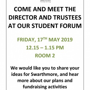Student Forum poster