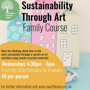 sustainabilty through art instagram post