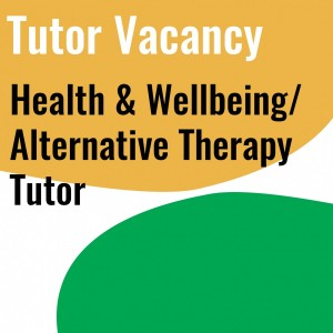 health and well being tutor