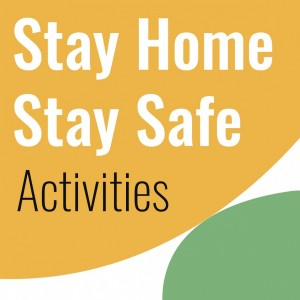 stay home stay safe website logo