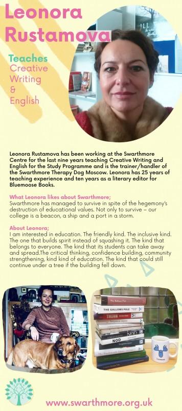 Leonora mock up profile