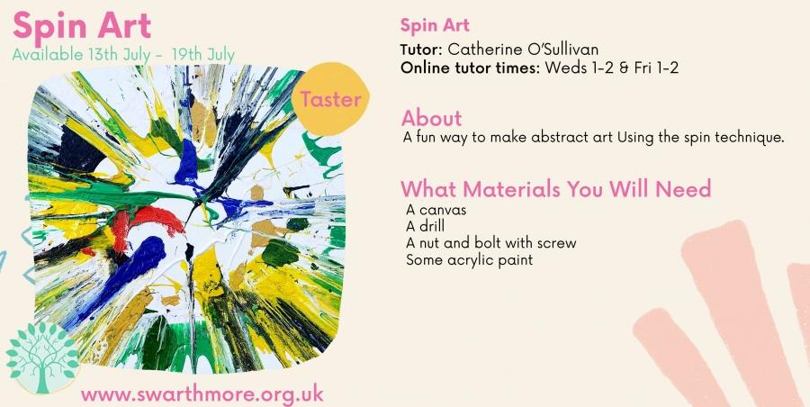 Spin Art wk 5