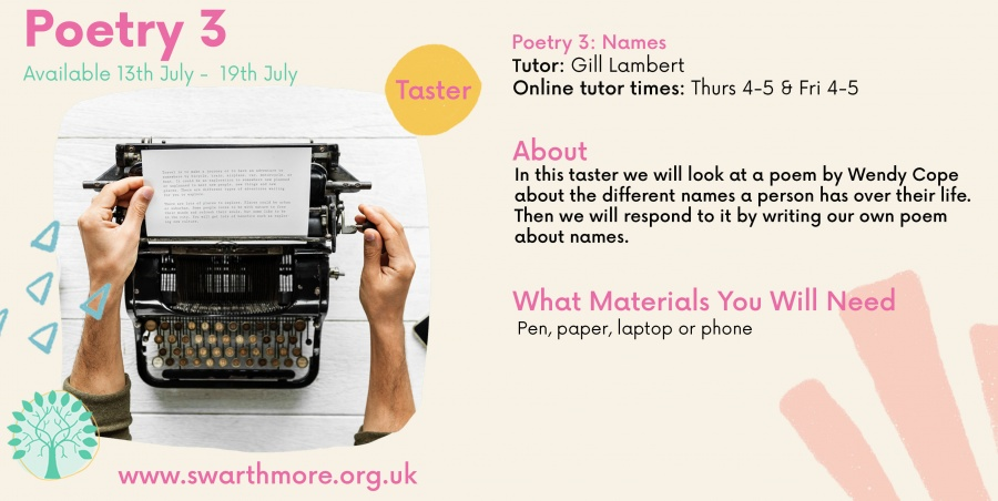 poetry wk 5